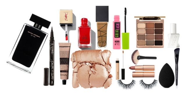 """""""youtube"""" by theessentialism on Polyvore featuring beauty, Narciso Rodriguez, Smith & Cult, Aesop, Illamasqua, NARS Cosmetics, Maybelline, Stila, Essie and beautyblender"""