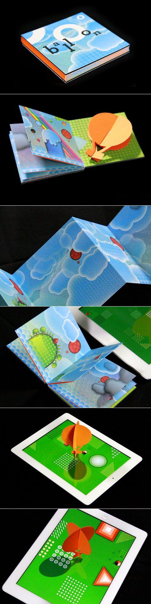Balloon paper app by Volumiques (Etienne Mineur)