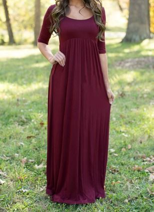 Long dresses online casual