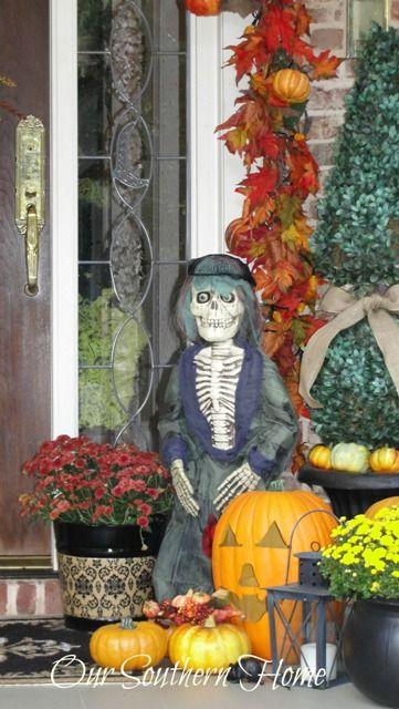 Southern Fall Porch