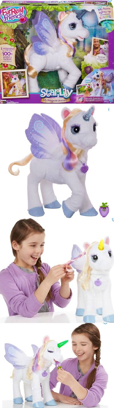 FurReal Friends 38288: Furreal Friends Starlily My Magical Unicorn Star Lily New In Box -> BUY IT NOW ONLY: $103.99 on eBay!