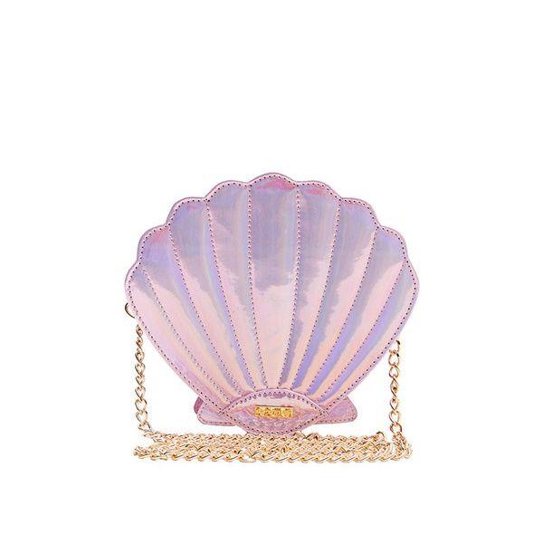 Skinny Dip London | Mermaid Pink Shell Cross Body Bag | Spoiled Brat