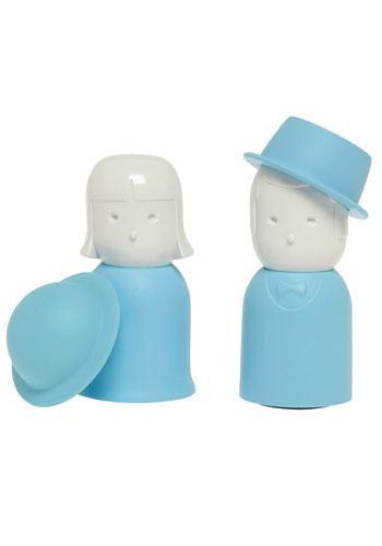 Mrs. Salt & Mr. Pepper shakers