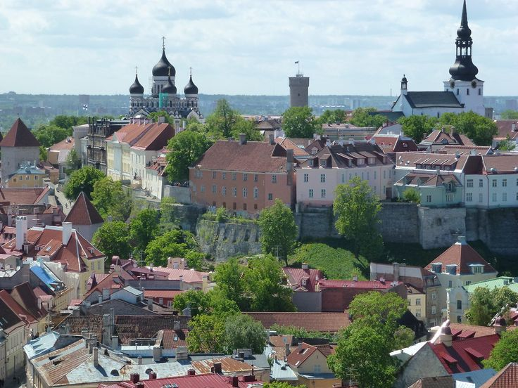 Tallinn - View of Toompea