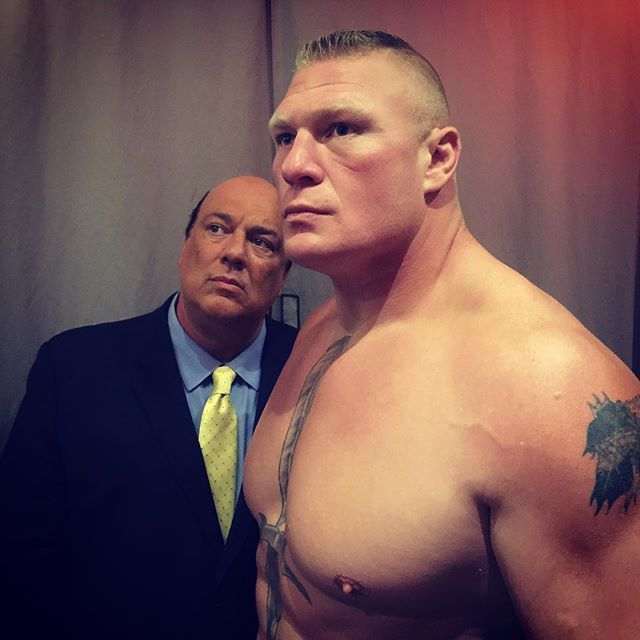 The Beast Brock Lesnar is back. #SummerSlam