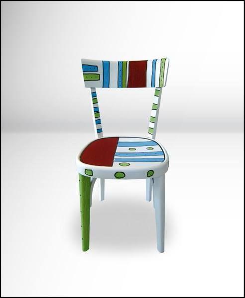 Oltre 25 fantastiche idee su mobili dipinti su pinterest for Poltroncine colorate