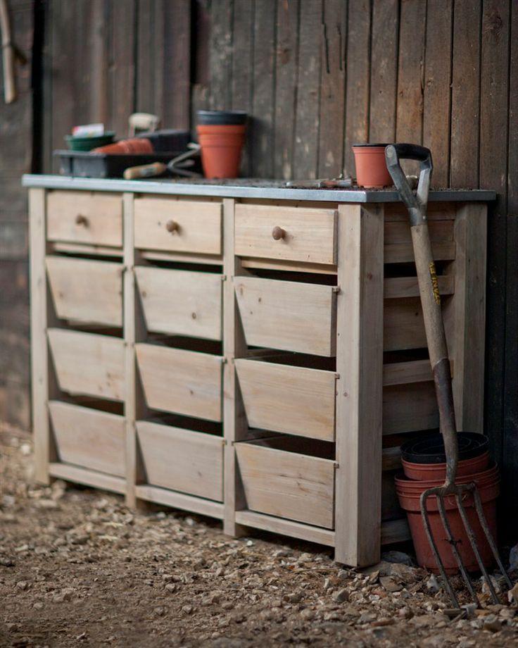 12 Drawer Storage Unit | Garden Trading