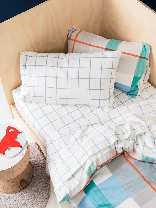 Blanky Blue Flannelette Sheets