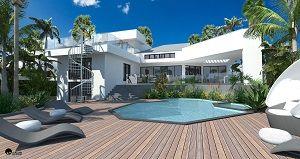 Villa in costruzione a Miami Beach