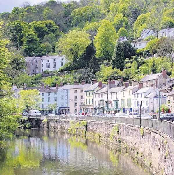 Matlock bath, the Switzerland of Derbyshire, England. Matlock is where my Bunting ancestors were born and lived.