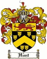 Hunt Coat of Arms / Hunt Family Crest