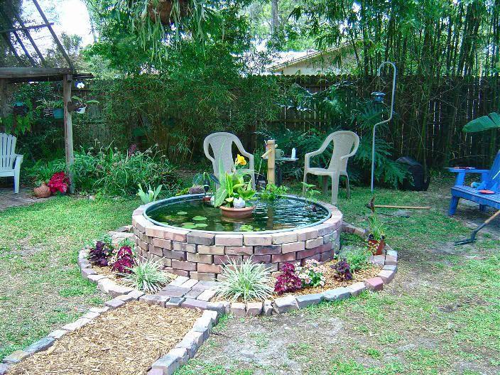 Best 25 coy pond ideas on pinterest koi ponds koi pond for Round garden pond designs