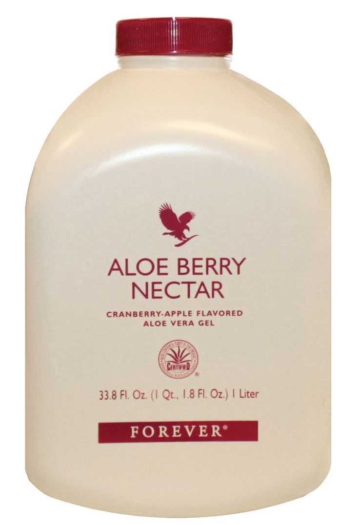 Forever Living - Aloe Berry Nectar. All the benefits of Aloe Vera Gel coupled with a sweet blend of apple and cranberry juice - high in antioxidant vitamin C and A, potassium and pectin to aid in cleansing the digestive system. It's a health drink with a great taste that can help maintain a healthy urinary system.   Contents: 1 litre Directions: Shake well. Take 60-120ml, (2-4fl oz) daily.