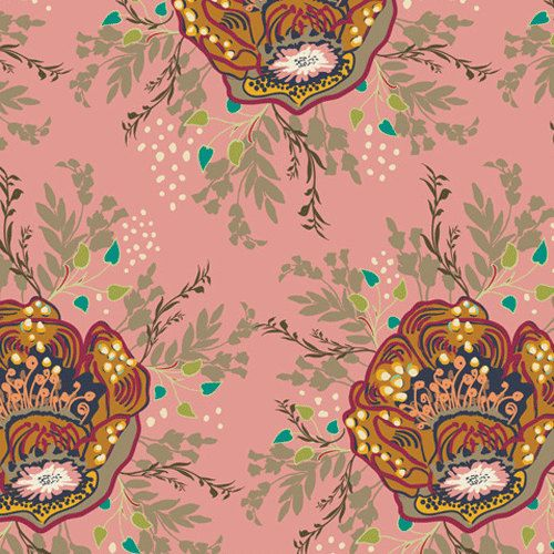 INDIE Royal Nature Nectar IN5207 by Patricia Bravo by MoonaFabrics