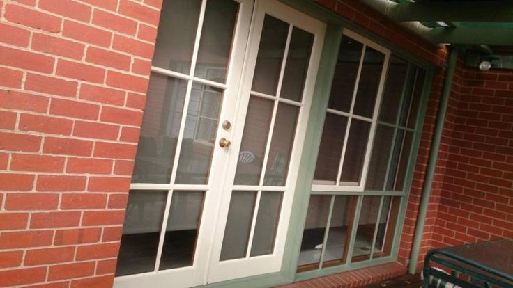 Timber Window Frame with French Doors and wind out window Excellent Condition Width 3500 cm x Height 2040 cmTotal size French Door Size 1650 cm width ..., 1153888165