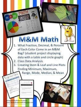 These 3 sweet-filled activities and student project centered on data ...