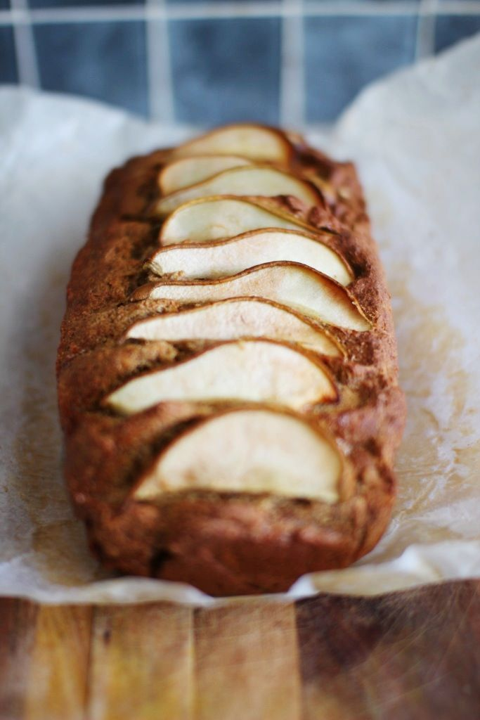 Gluten Free Pear & Ginger Loaf by 'Not Your Typical Dietitian'