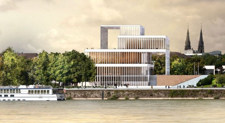 Chipperfield Among Three Shortlisted Schemes Unveiled for Beethoven House of Music