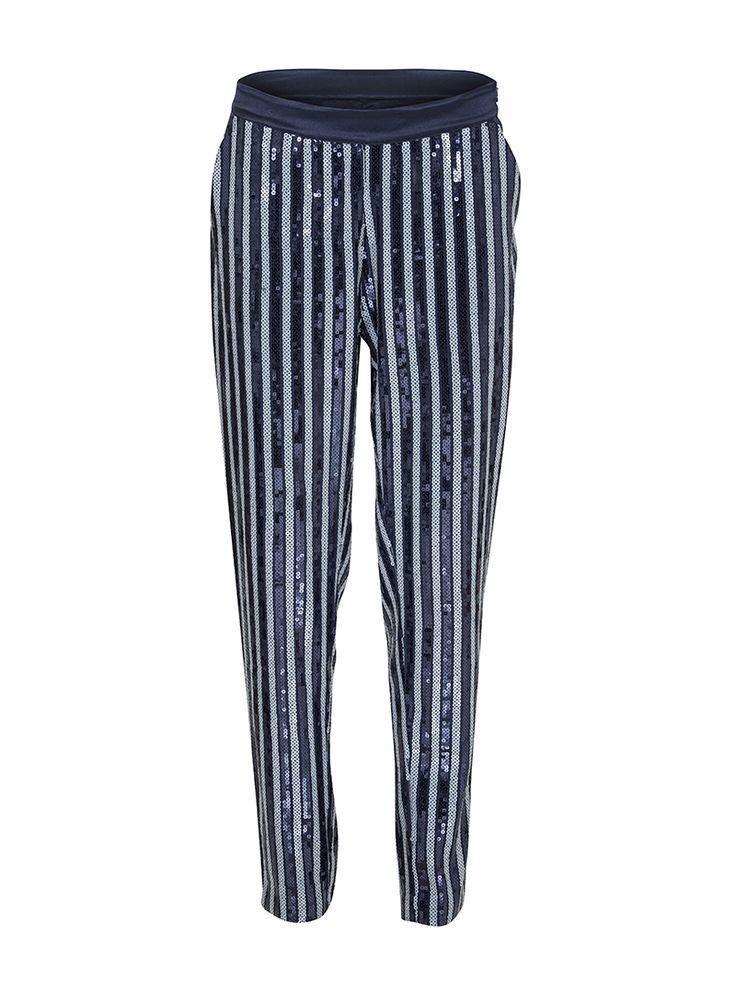 Molise Sequin Trousers | Custommade.dk