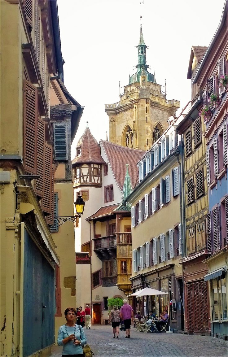 Unforgettable impressions as you stroll through the streets of Colmar, Alsace, France.