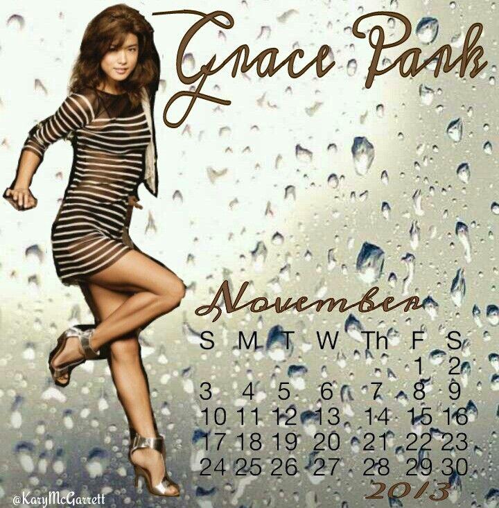 Grace Park November 2013