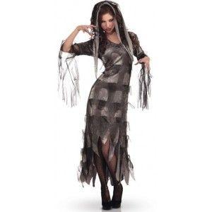 Déguisement zombie mistress adulte femme, costume zombie, costume Halloween.