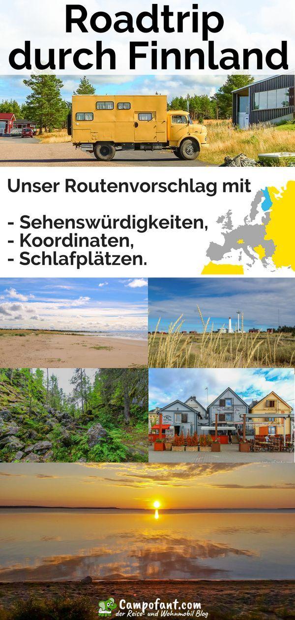 Roadtrip durch Finnland: Unser Routenvorschlag