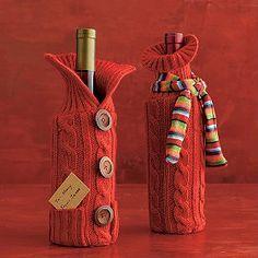 diy wine bottle cozy - Google Search