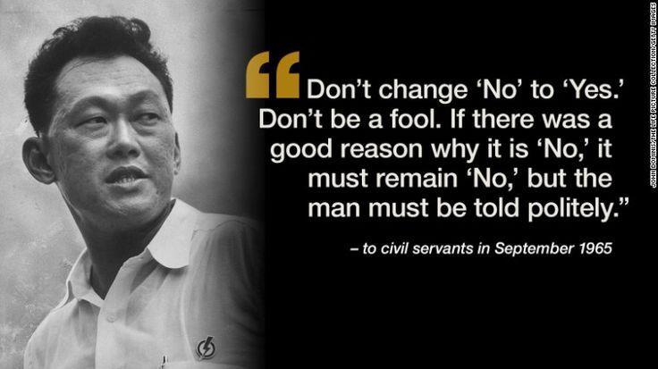 Lee Kuan Yew: Singapore's founding father - CNN.com