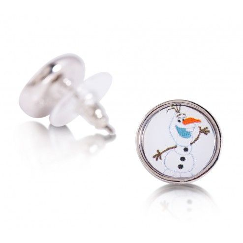 Disney Couture Frozen Olaf Stud Earrings at Aquaruby.com