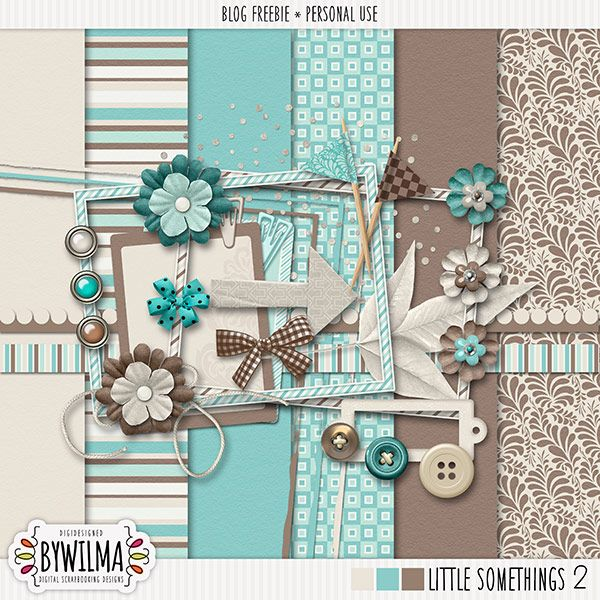 Quality DigiScrap Freebies: HURRY! Little Somethings 2 mini kit freebie from By…