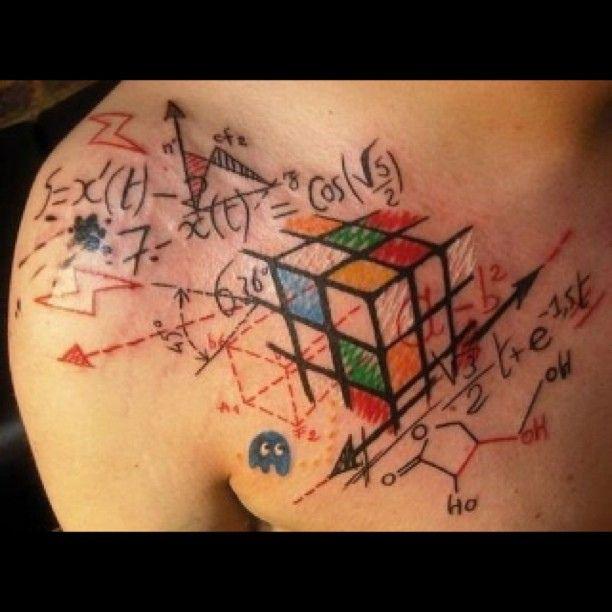 Cool-Colour-Tattoo-Desing-With-Badass-Tribal-Tattoo.jpg (612×612)