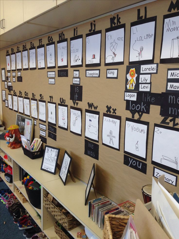 Word wall made by the children ≈≈