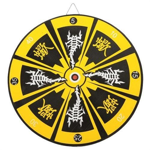 Oriental Stinger Bullseye Throwing Knife Target Dart Board by Armory Replicas. $8.99. Nail a target right in the center after practicing on a foam corkboard setup like this. Compatible with throwing stars, throwing knives, kunai, arrows, crossbows, blowguns, and more. 14.5 inches in diameter.. Save 29% Off!
