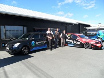 Christchurch Central Signwriters Christchurch - Vehicle Graphics, Banner Signage, Safety Signs | Speedy Signs
