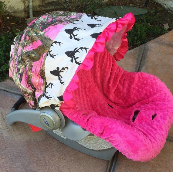 Infant Car Seat Cover CarSeat Baby By ChubbyBaby