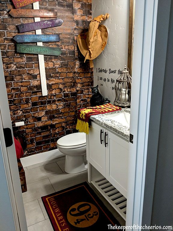 Harry Potter Bathroom The Keeper Of The Cheerios Crafts Harry