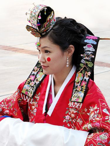I might be only half, but I'm very in touch with my Korean Heritage.
