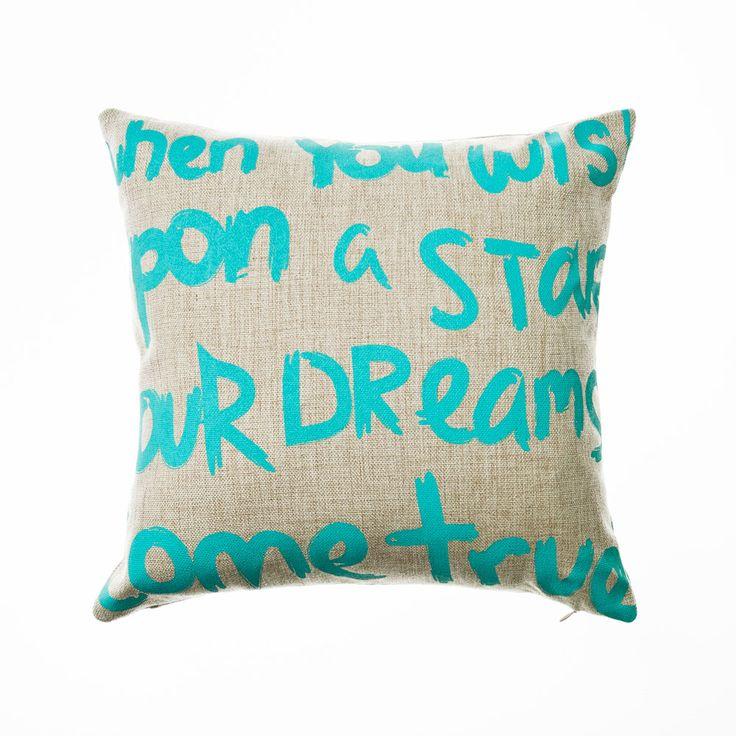 Home Republic Dreams Come True Mint - Soft Furnishings Cushions - Adairs Online