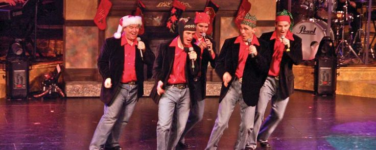 The Hughes Brothers Christmas Show at the Hughes Brothers Theater in Branson.