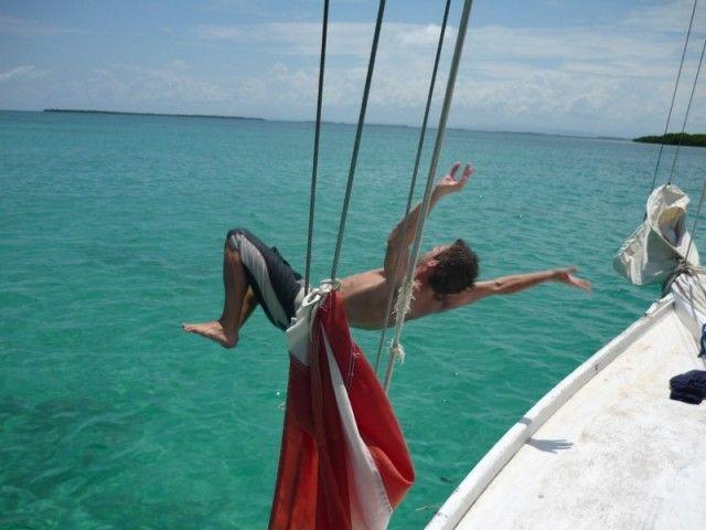 Belize in barca a vela