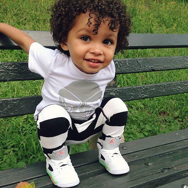 mixed babies boy with swag wwwimgkidcom the image