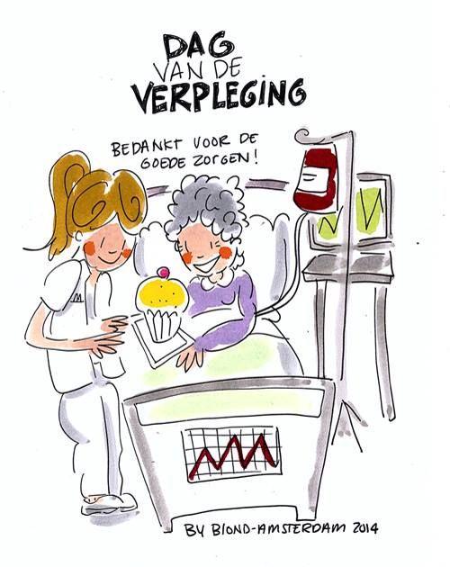 Dag van de verpleging by Blond-Amsterdam