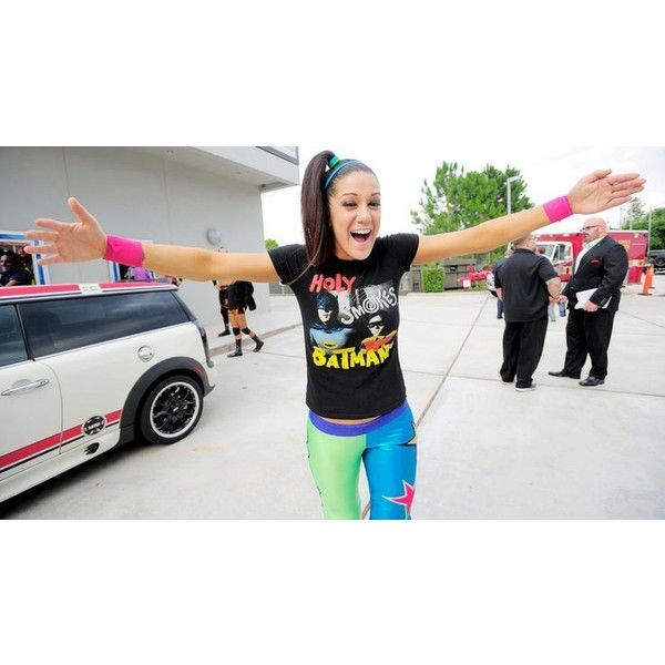Wwe NXT bayley ❤ liked on Polyvore