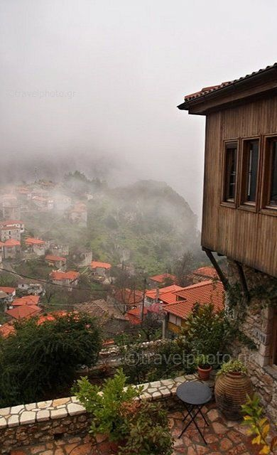 Stemnitsa village in Arcadia (Peloponnese), Greece