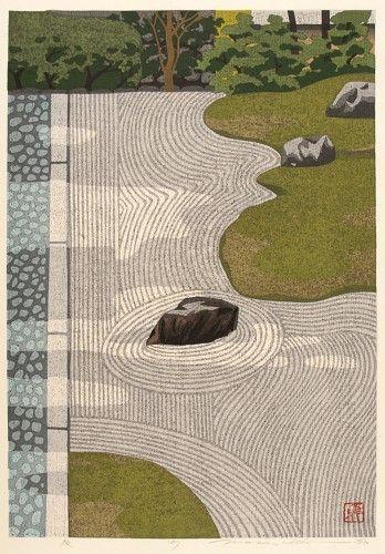 Zen Garden by IDO Masao