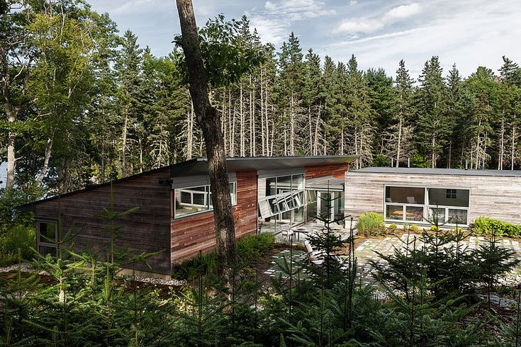 13 best house on a cove images on pinterest arquitetura for Maine residential architects