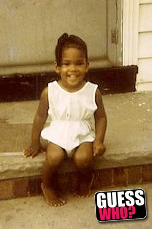 Halle Berry. i knew by looking at her she was always going be a beautiful baby