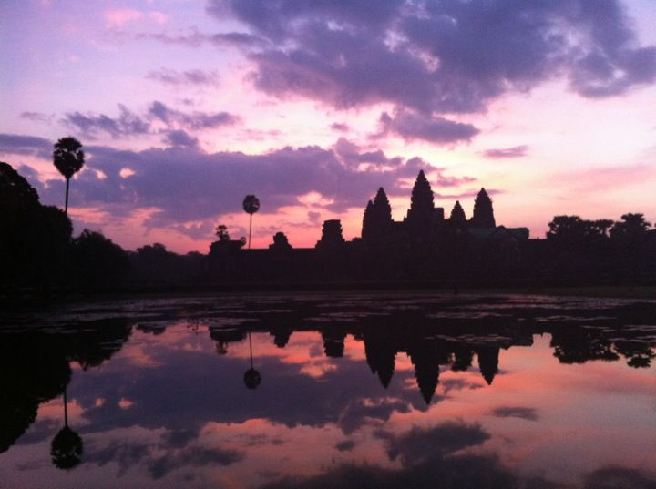 Angkor Wat Temple (អង្គរវត្ត) in Angkor, Siem Reap