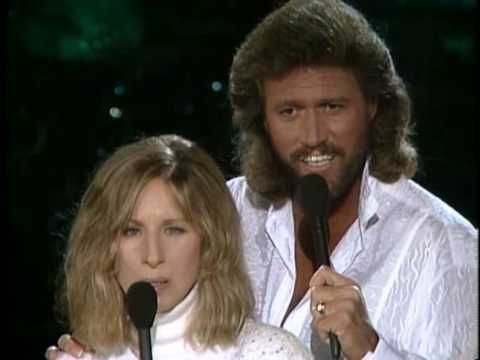 """Barbara Streisand & Barry Gibb  """"What Kind Of Fool""""  wanted to add watching this whole thing right now i just got chills watching these 2 wonderful singers perform so magically together - wow"""
